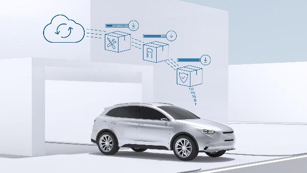 Mit Updates Over-the-air bringt Bosch Autos sicher auf den aktuellen Stand.