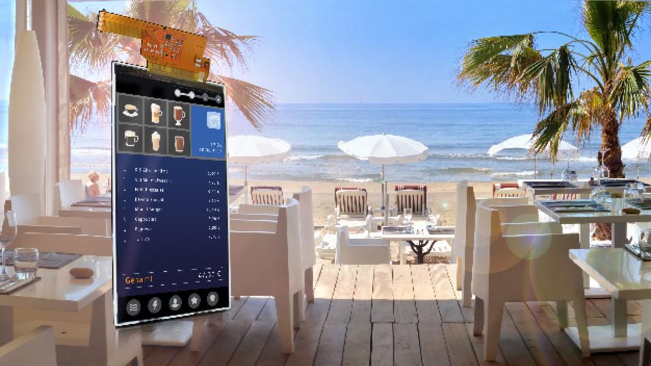 Für den Einsatz bei Temperaturen von -20 bis +70 °C hat Ortustech das sonnenlichttaugliche 5-Zoll-TFT-Display COM50H5N03ULC mit HD-Auflösung (Vertrieb: Data Modul) konzipiert.
