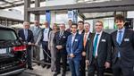 Eröffnung der Wasserstofftankstelle in Karlsruhe