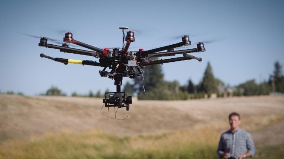 Hochauflösende, radiometrische Drohnen-Kamera für Wärmebilder und sichtbares Licht