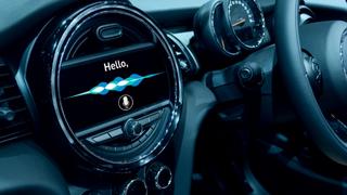 Spracherkennung im Automobil.