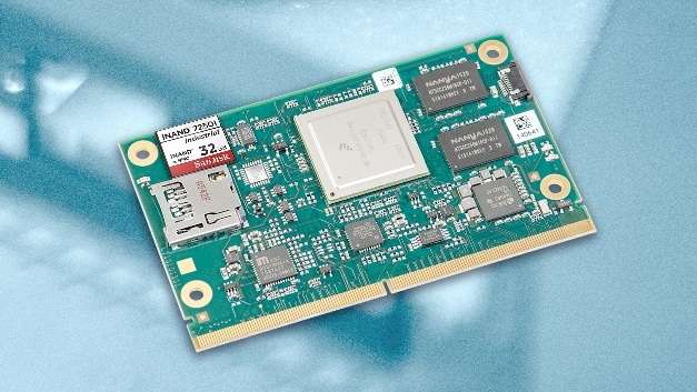 Embedded Flash Drive (EFD) Industrial iNAND 7250