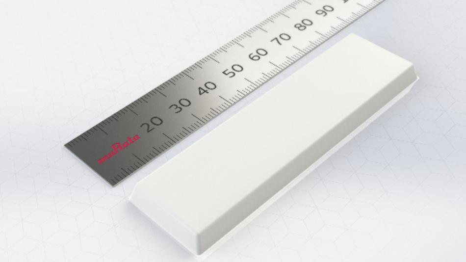 Eine maximale Lesedistanz von 10 Meter ermöglicht Muratas RFID-Tag LXFLANMXMG-003 mit IP68-Schutzart.