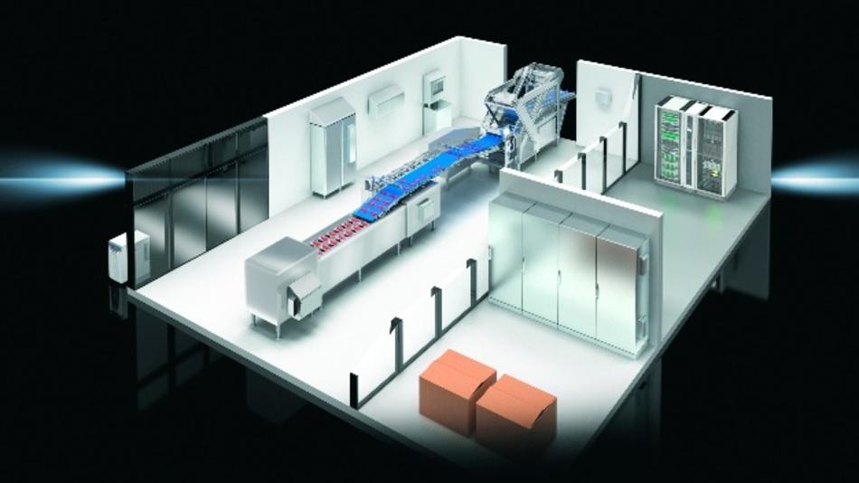 Schrankaufbauten für Betriebe mit hohen Hygiene-Anforderungen