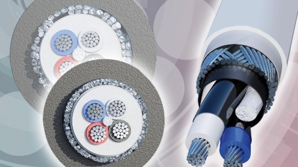 Zu den Neuheiten von HEW-KABEL auf der SPS IPC Drives 2017 gehören ultradünne Aderisolationen aus modifiziertem PTFE für reduzierte Kabeldurchmesser ohne Kompromisse