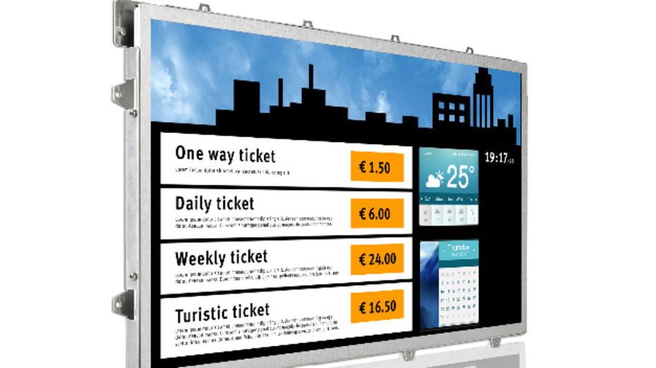 Eine MTTH von 50.000 Stunden garantiert AUO für sein 21,5-Zoll-TFT-Display, das Data Modul mit dem LCD-Controller-Board St1:3 offeriert.