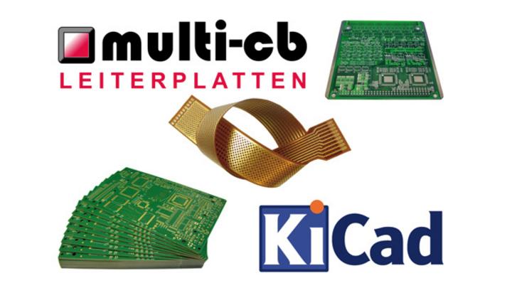 Multi-CB unterstützt KiCad-Leiterplatten-Daten
