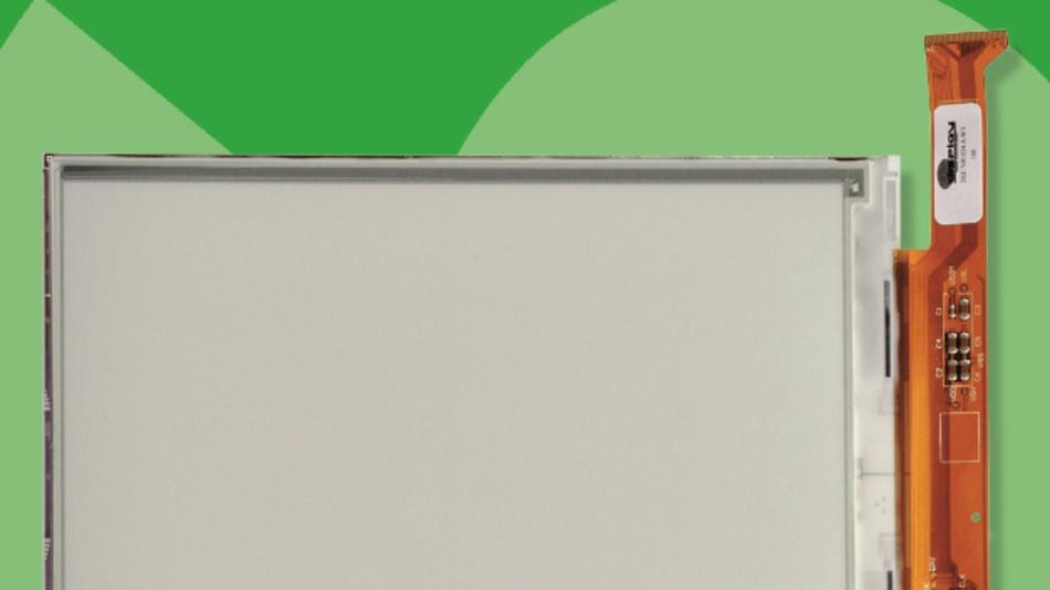 Auflösungen von bis zu 768 x 1024 Pixel und Diagonalen von 1,6 bis 8 Zoll haben Schukats E-Paper-Displays, die sich bei Temperaturen bis +50 °C verwenden lassen.