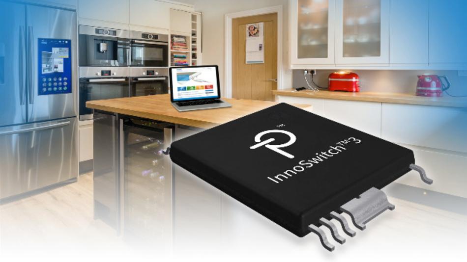 Das InSOP-24-Gehäuse des InnoSwitch3 von Power Integrations gewährleistet eine 11,5 mm lange Luft- und Kriechstrecke zwischen Primär- und Sekundärseite und vermeidet eine Optokoppler.