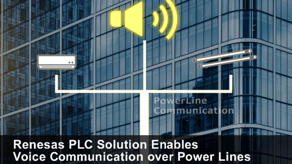 Neue Lösung integriert Sprach- und Datenkommunikation über Stromverteilernetze in Gebäuden und senkt Verkabelungs- und Stücklistenkosten.