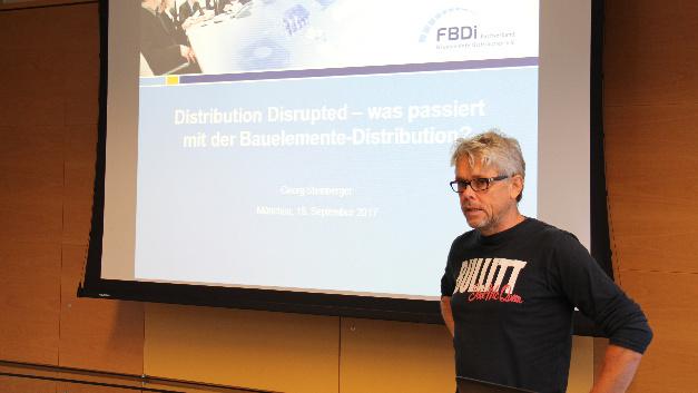 Georg Steinberger, Vorstandschef des FDBi, spricht über »Distribution Disrupted«