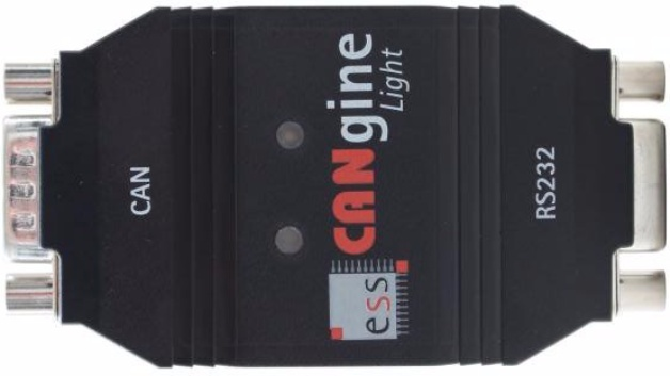 Die CANgineLight FMS ermöglicht jedem Onboard-Telematikrechner mit serieller Schnittstelle den einfachen Zugang zu den FMS-Daten.