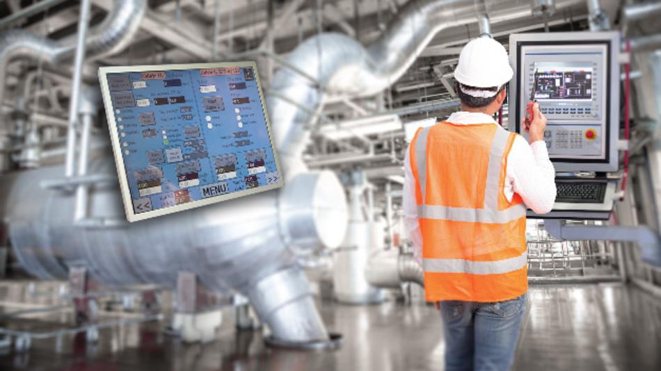 Dank Blickwinkeln von 89 Grad und des hohen Kontrastwerts ist AUOs industrielles 19-Zoll-TFT-Display aus allen Richtungen gut ablesbar.