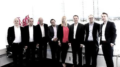 Teilnehmer des Business Talk Digital Workplace