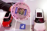 Ein Ssensor am Stellplatz überträgt per Funk, ob er frei oder belegt ist.