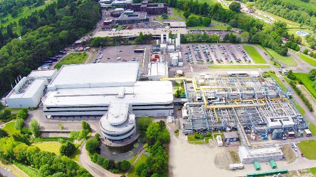 Der Produktionsstandort im walisischen Newport.