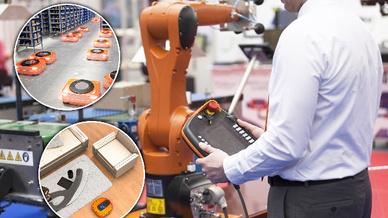 Roboter-Anwendungen in der Industrieautomatisierung und im Dienstleistungsbereich