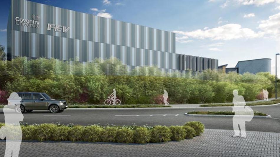FEV und die Universität Coventry errichten ein gemeinsames Entwicklungszentrum für Antriebe.