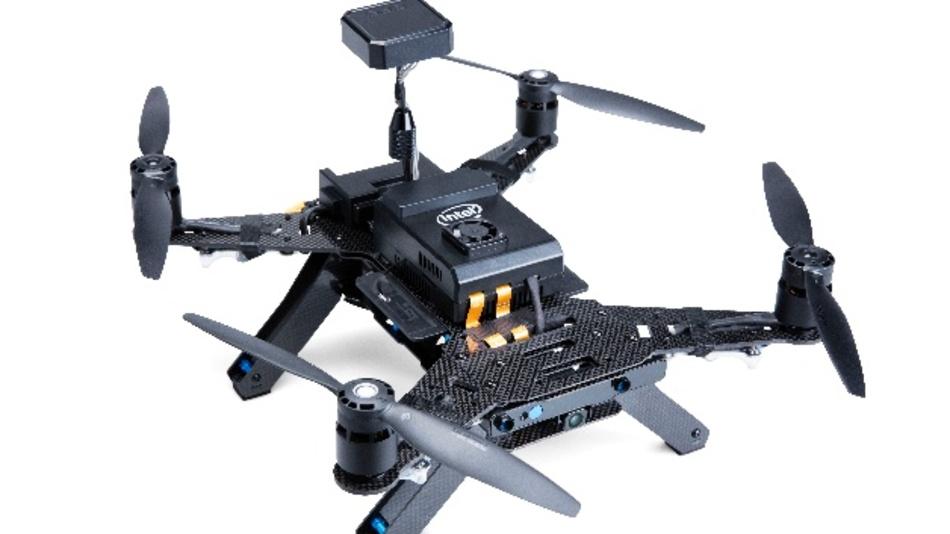 Die Aero-Drohne von Intel – eine fliegende Entwicklungsplattform für Sensoranwendungen.