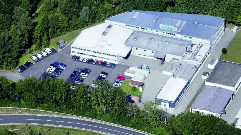Das Werk 1 der Richard Wöhr GmbH in Höfen/Enz