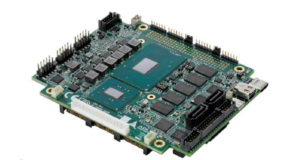 Adlink bietet mit seinem neuen SBC eine leistungsstarke Kombination aus stapelbarer PCI/104-Express-Bus-Struktur Typ 1 (PCIe x16) und Intel-Core-Prozessoren der 6. Generation an.