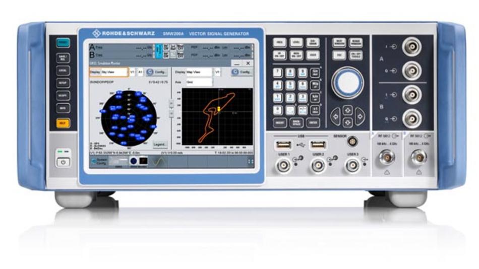 SMW200A GNSS-Simulator von Rohde & Schwarz