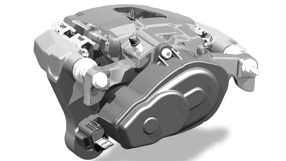 ZF bringt elektrische Parkbremse für Nutzfahrzeuge im Ford F-150 auf den Markt.