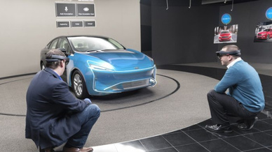 Microsoft HoloLens Ford