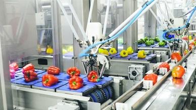 Roboter an der Ampel, Omron