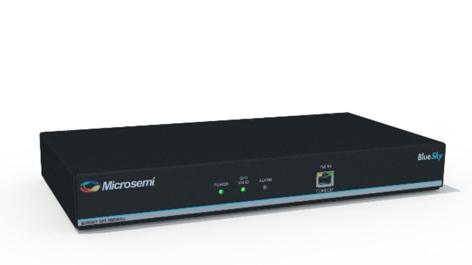 GPS-Firewall BlueSky von Microsemi.