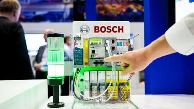 5G Demonstrator von Bosch und Nokia