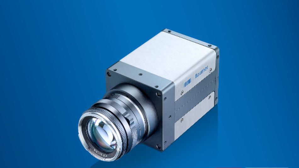 Das erste Mitglied der Kamerafamilie QX von Baumer kombiniert einen 12-MPixel-CMOS-Bildsensor mit einer 10-GBit-Ethernet-Schnittstelle.