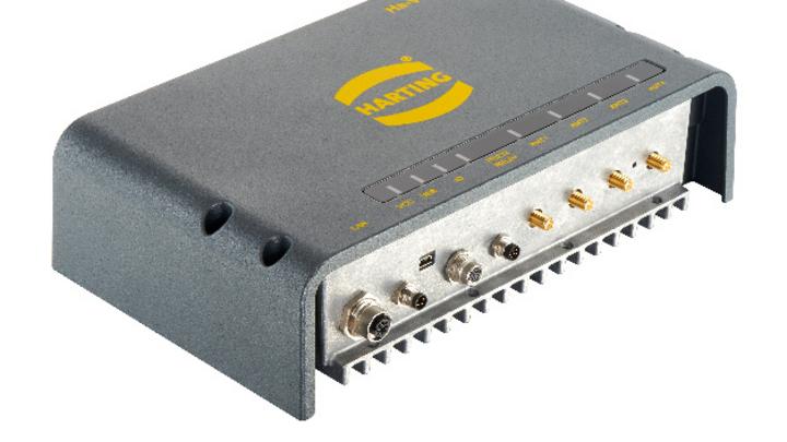 UHF-RFID-4-Feld-Reader RF-R400 von Harting