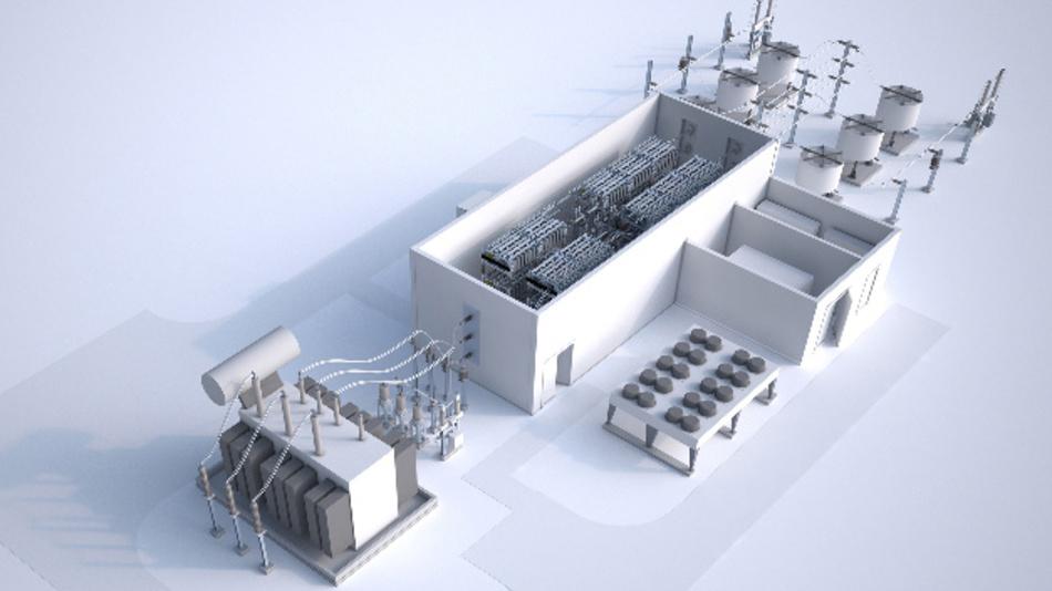 Siemens bringt ein neues Gleichstromübertragungssystem für eine effiziente Stromübertragung im Leistungsbereich von 30 bis 150 Megawatt auf den Markt.