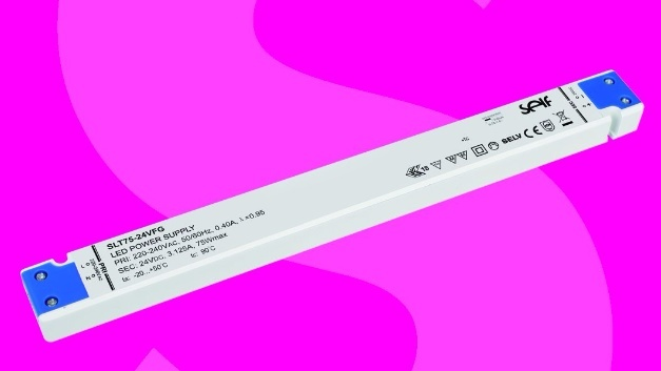 Ultraflaches LED-Netzteil von Self Electronics