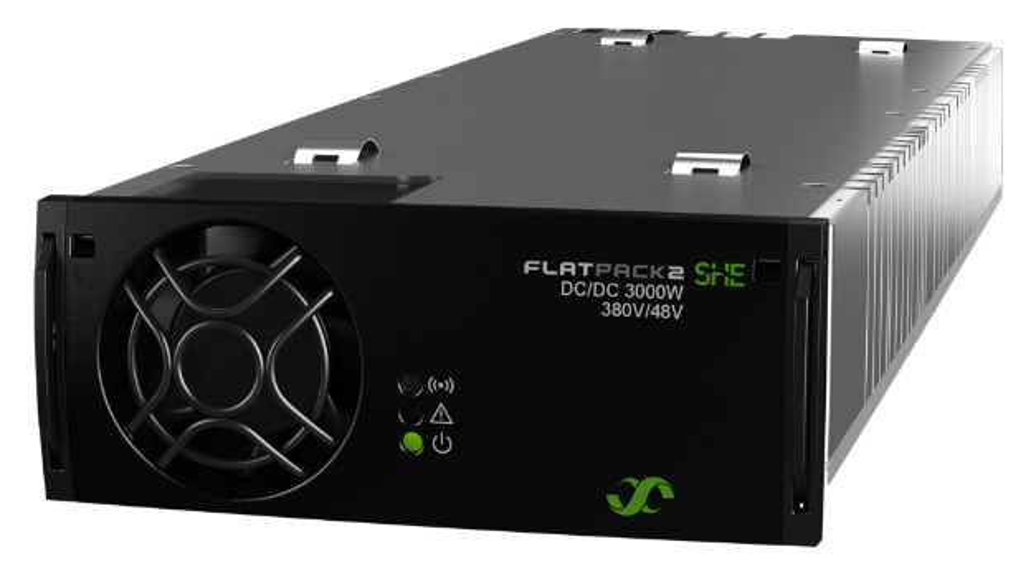 Die 3-kW-Server-Stromversorgung Flatpack 2 SHE von Eltek nutzt CoolGaN von Infineon