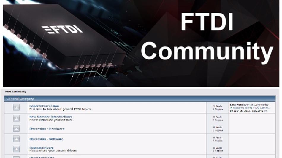 Schneller zu USB-bezogenen Lösungen ist das Ziel des neuen Angebots von FTDI Chip.