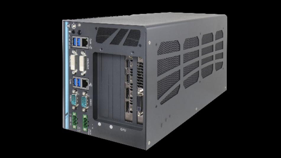 Für High-End-GPU-Processing ist der Industrie-PC »CamCollect 6108GC« von Aprotech ausgelegt.