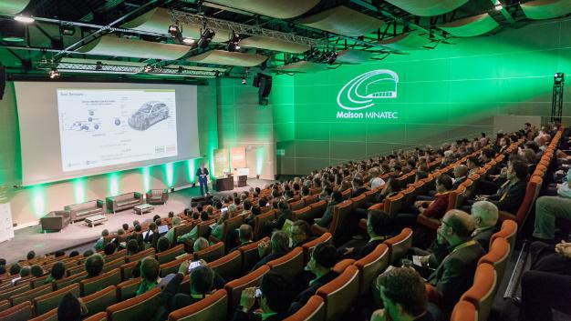 Ca. 370 Teilnehmer waren nach Grenoble gekommen, um sich in den Vorträgen über MEMS, Sensoren und Bildverarbeitung zu informieren.