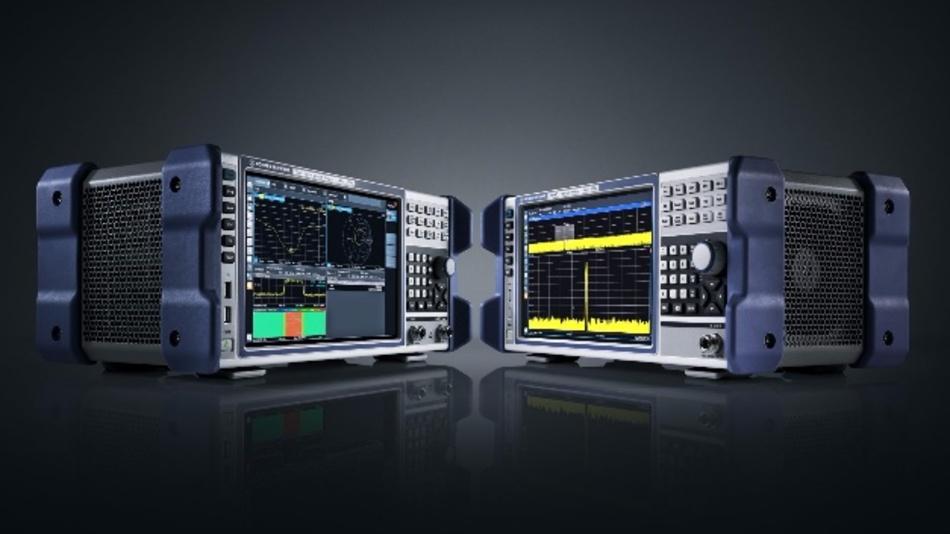 Netzwerkanalysator R&S ZNL und Spektrumanalysator R&S FPL1000 – eine neue Familie kompakter, tragbarer Messgeräte von Rohde & Schwarz.