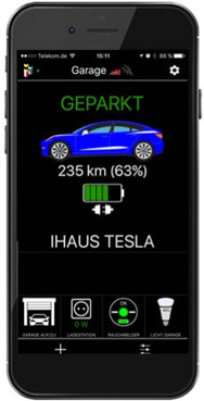 Tesla IPhone