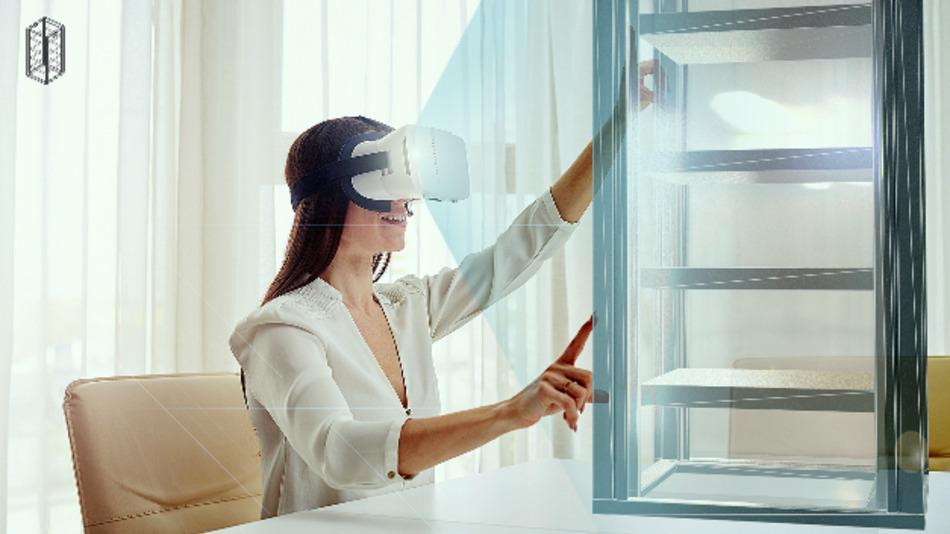 Zusammenbau von Elektronikschränken im virtuellen Raum