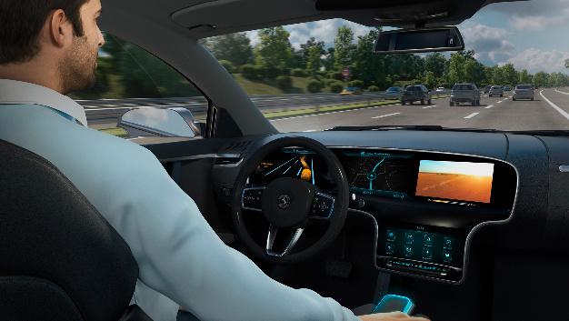 »Smart Control« von Continental als zentrales Bedienelement für den Mensch-Maschine-Dialog.