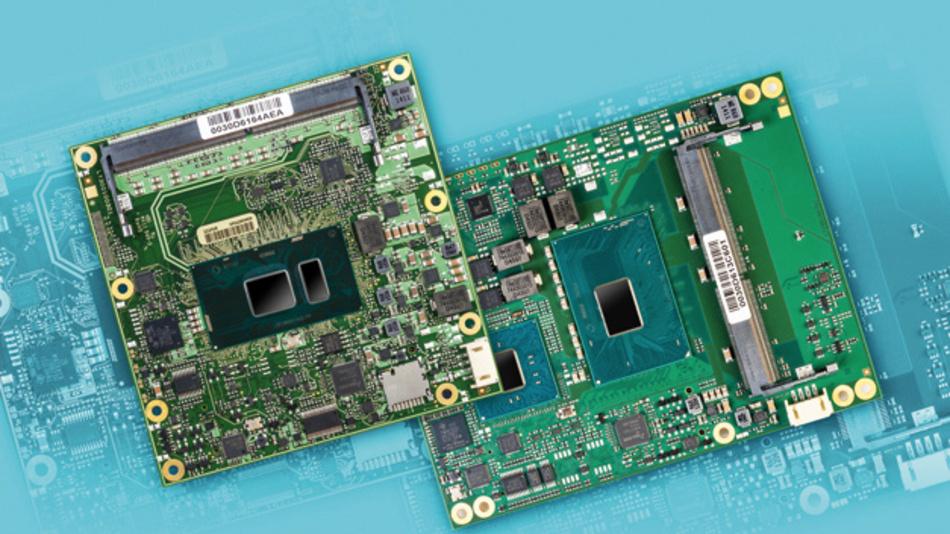 Die COM-Express-Modulfamilien MSC C6C-KLU und MSC C6B-KLH von MSC Technologies  verbinden aktuelle Intel-Core-Prozessoren der 7. Generation mit Security-Funktionen.