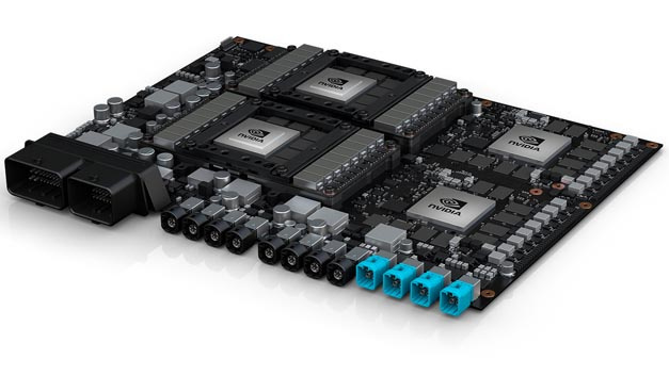 Nvidia's neue Plattform mit dem Code-Namen Pegasus.