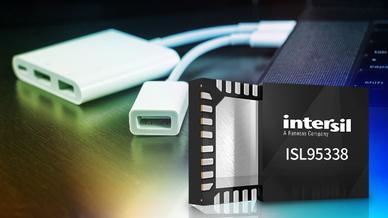 Intersil stellt den ersten USB-C Buck-Boost-Spannungsregler vor.
