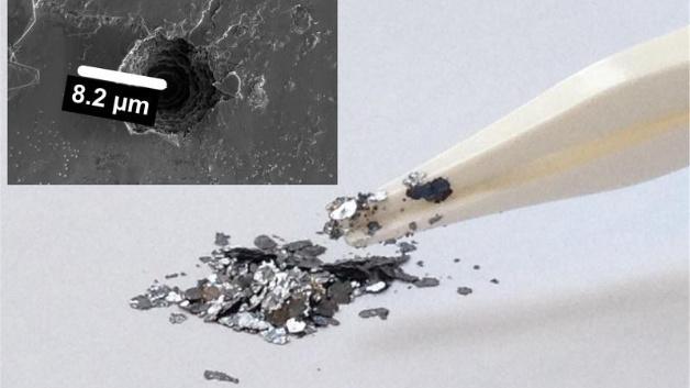 Kish-Graphit ist ein Abfallprodukt aus der Stahlproduktion. Es könnte die Grundlage sein für preisgünstige, aufladbaren Batterien aus gut verfügbaren Rohstoffen.