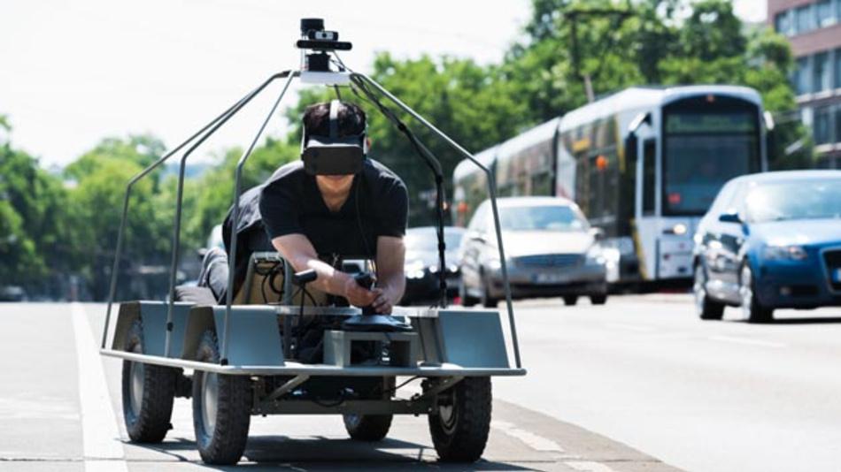 Das neue Moovel-lab-Projekt »Who Wants to Be a Self-Driving Car« will das Zukunftsthema autonomes Fahren erlebbar machen und so helfen, Vorurteile abzubauen.