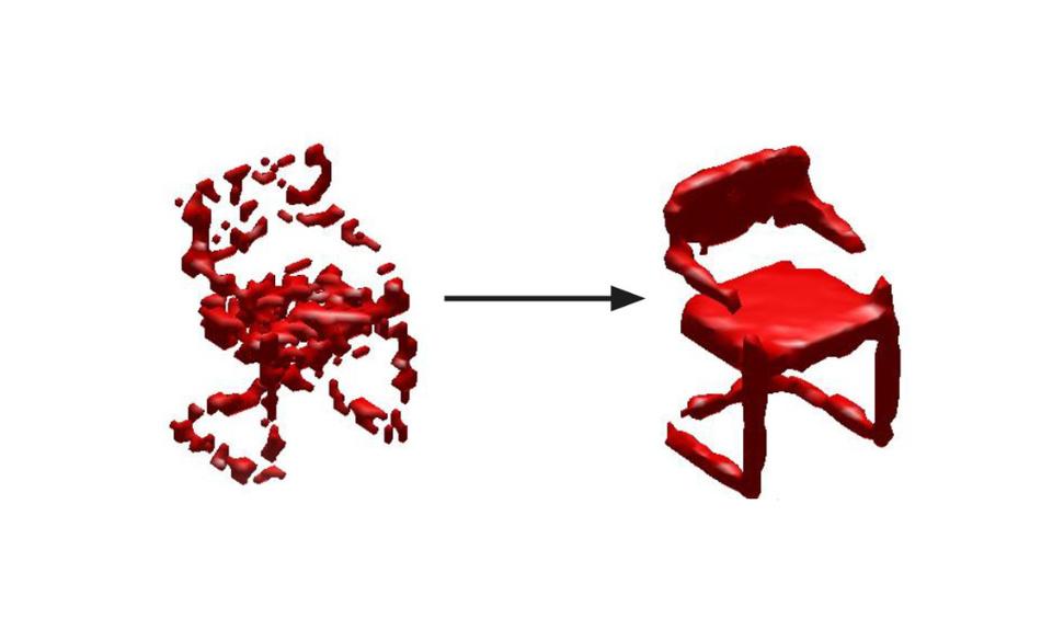 Die Saarbrücker Informatiker können aus solch fehlerhaften Daten die ursprünglichen Objekte rekonstruieren.