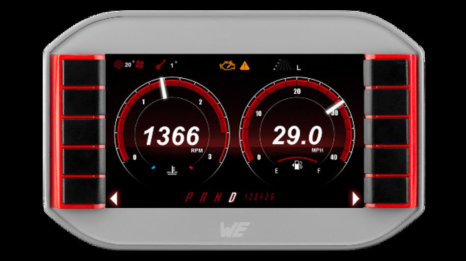 Herzstück von Würths 7-Zoll-Display WEcabin Display i7 ist ein ARM-Cortex-A8-Prozessor mit 512 MByte RAM und 4 GByte Flash.